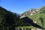 Чегемское ущелье в районе Иличири