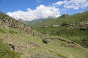 Вид поселения с южной окраины