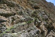 Начало скальной лестницы